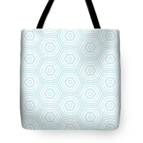 Dip In The Pool -  Pattern Art By Linda Woods Tote Bag
