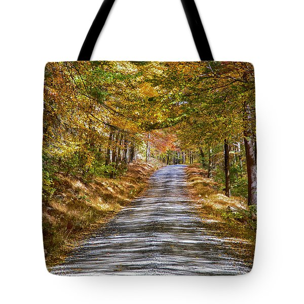 Dirt Road Tote Bag by Hugh Smith