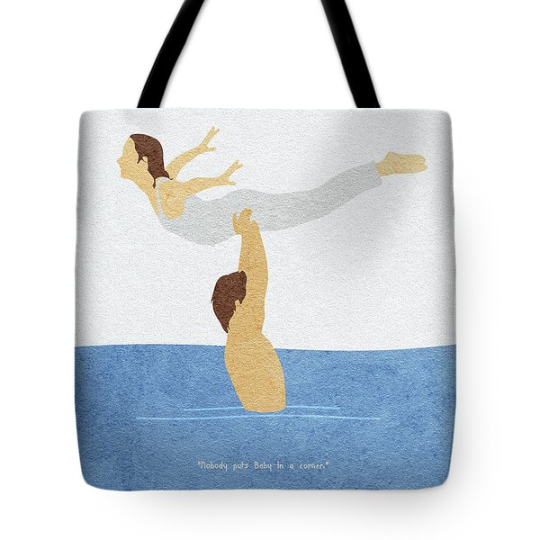 Tote Bag featuring the painting Dirty Dancing by Inspirowl