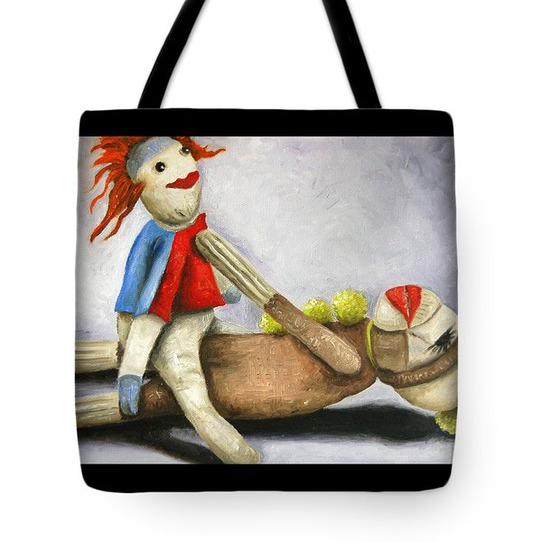 Dirty Socks 2 Still Dirty Tote Bag by Leah Saulnier The Painting Maniac