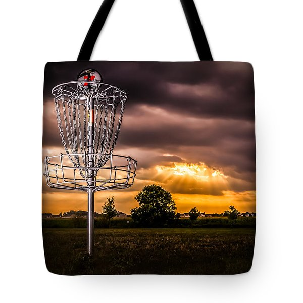 Disc Golf Anyone? Tote Bag