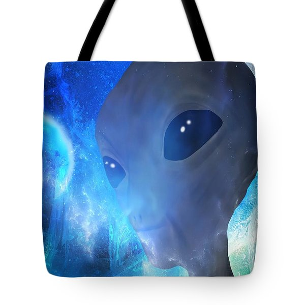Tote Bag featuring the painting Disclosure by Mark Taylor