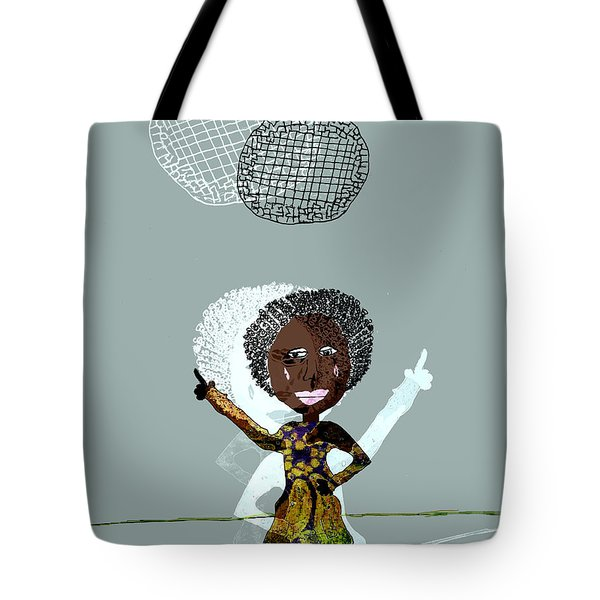 Disco Lady Tote Bag