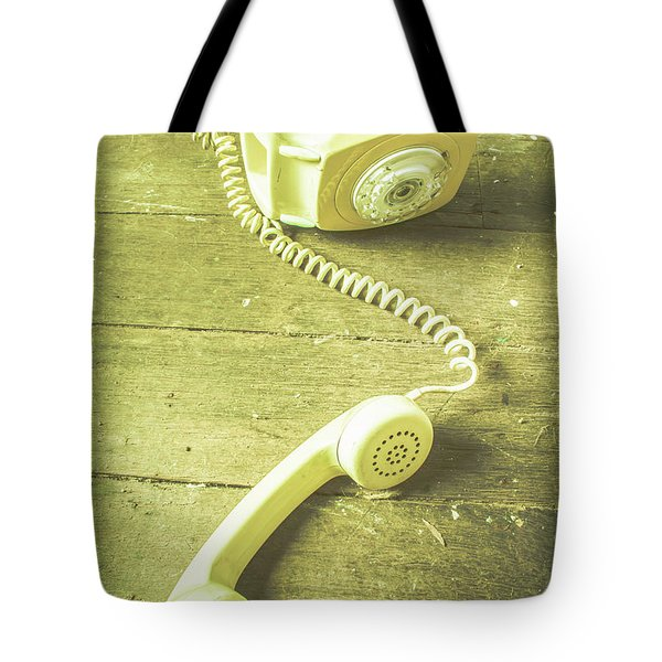 Disconnected Tote Bag by Jorgo Photography - Wall Art Gallery