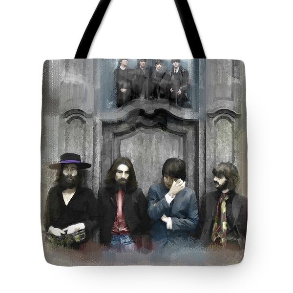 The Beatles  Discontent  Tote Bag