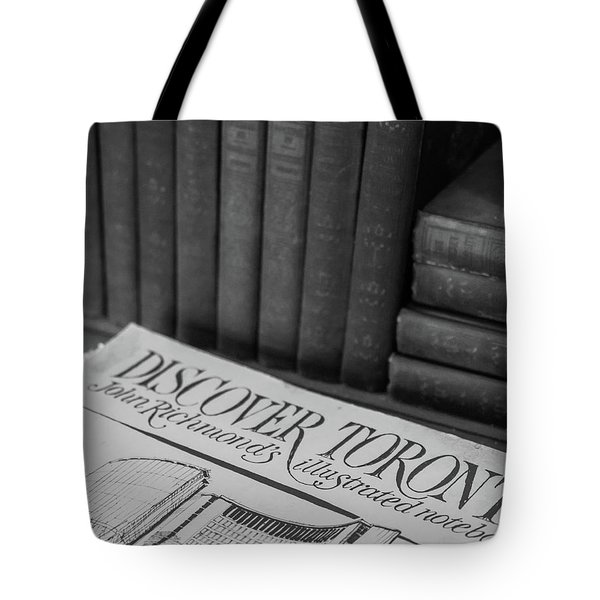 Discover Toronto Tote Bag