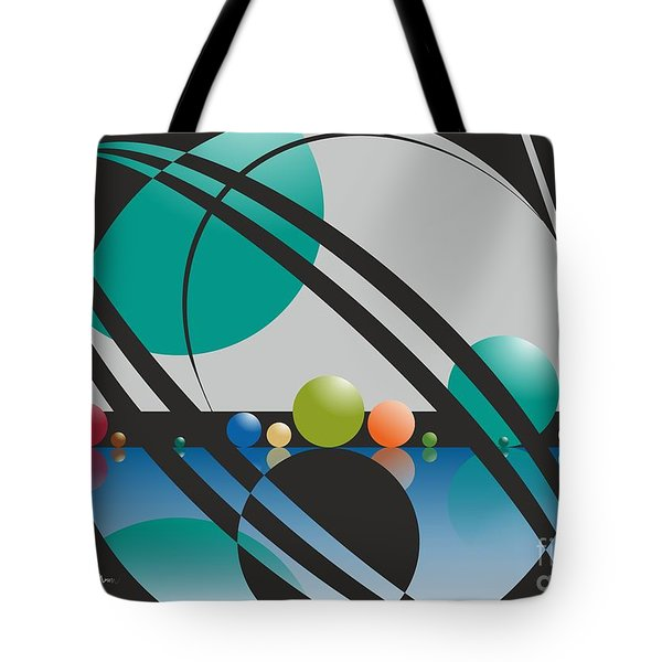 Discovered Thoughs Tote Bag by Leo Symon