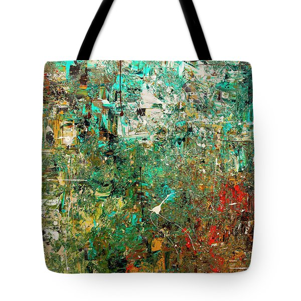 Discovery - Abstract Art Tote Bag