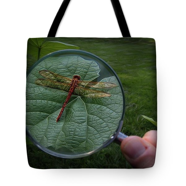 Tote Bag featuring the photograph Discovery by Mark Fuller