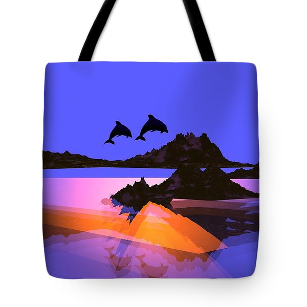 Discovery Tote Bag by Robert Orinski