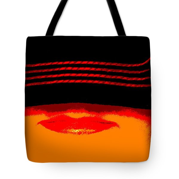 Tote Bag featuring the photograph Discretion by W And F Kreations