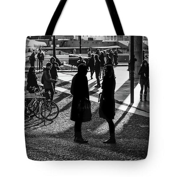 Discussion Tote Bag