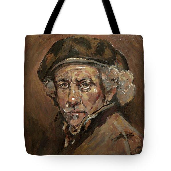 Disguised As Rembrandt Van Rijn Tote Bag