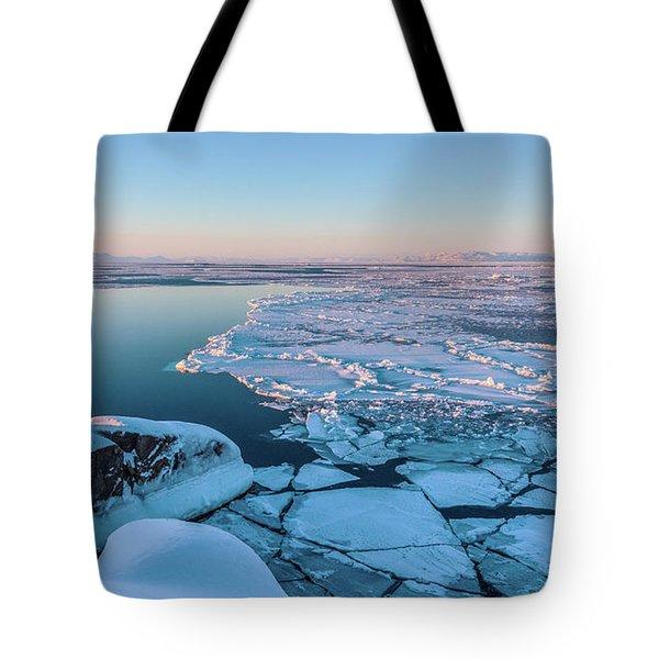 Disko Bay Sunset Tote Bag