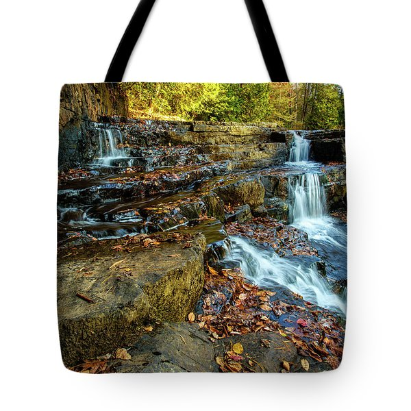 Dismal Creek Falls Horizontal Tote Bag