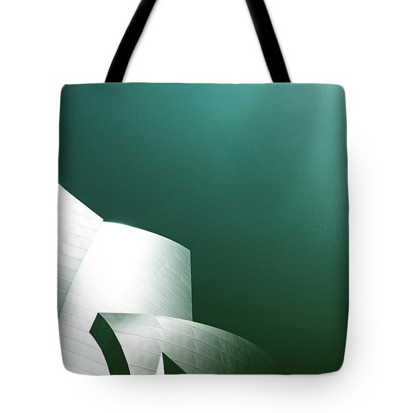 Disney Concert Hall 3- Photograph By Linda Woods Tote Bag
