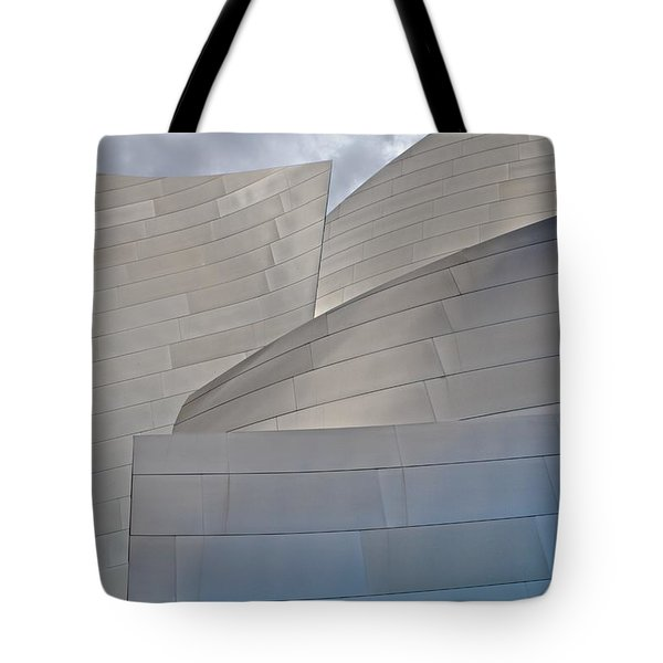 Tote Bag featuring the photograph Disney Concert Hall by Kim Wilson