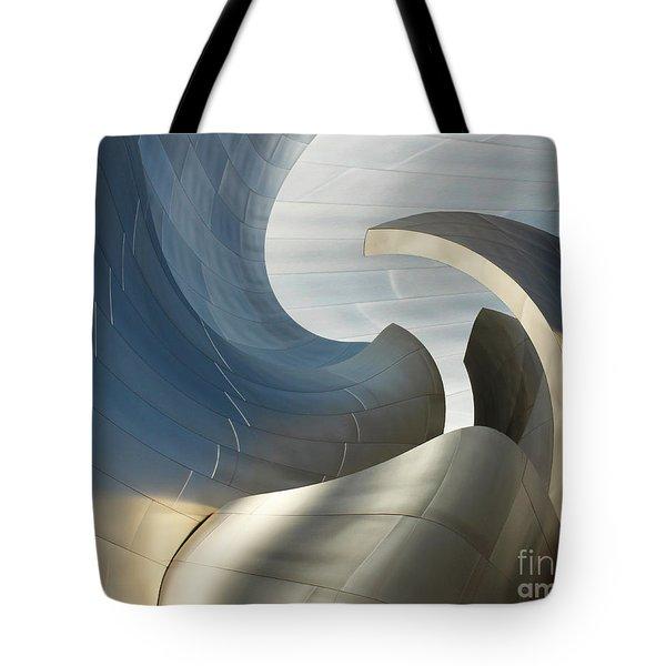 Disney Concert Hall Swirl Tote Bag