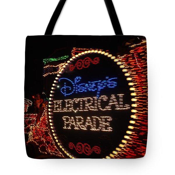 Disney Electric Parade Tote Bag