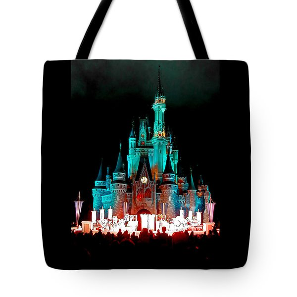 Tote Bag featuring the photograph Disney World Night by John Haldane