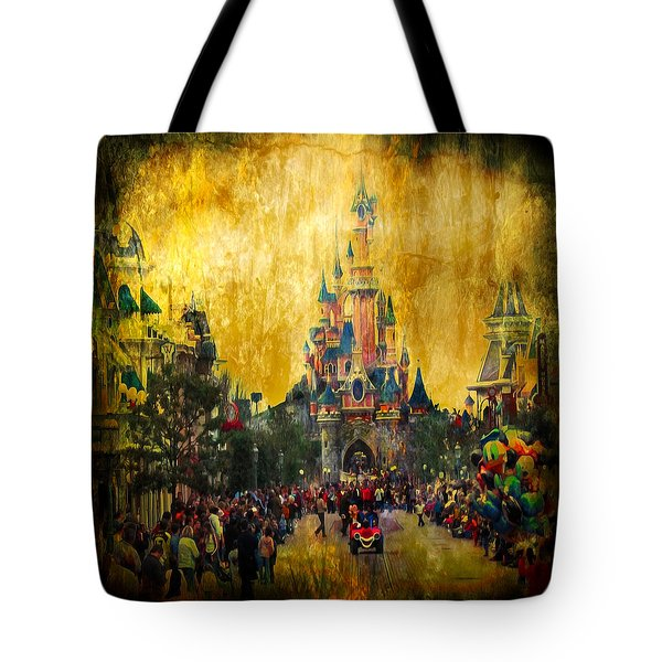 Disney World Tote Bag
