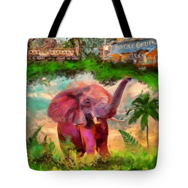 Disney's Jungle Cruise Tote Bag