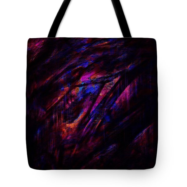 Disorder Tote Bag by Rachel Christine Nowicki
