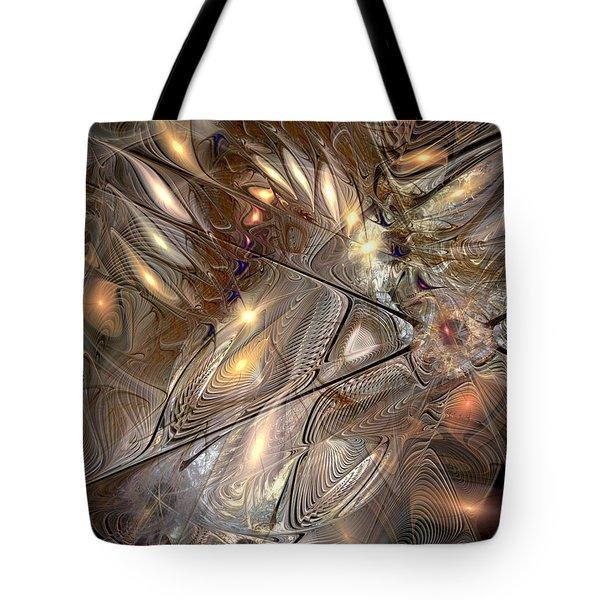 Disorderly Relativistic Interpretations Tote Bag by Casey Kotas