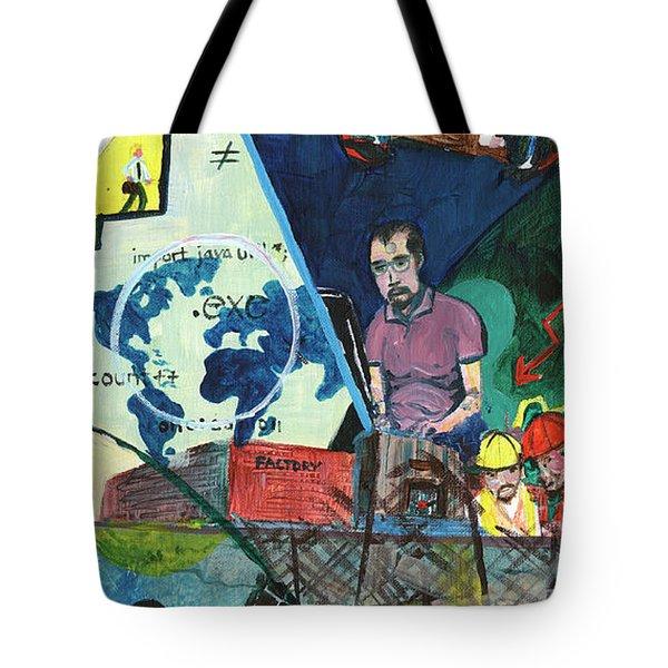 Disparity Tote Bag