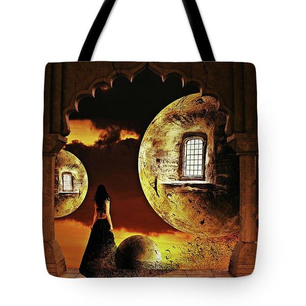 Dispersion Dream Tote Bag by Mihaela Pater