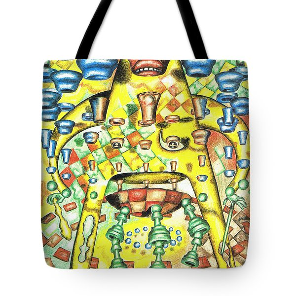 Dissecting The Opponent Tote Bag