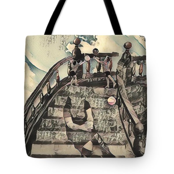Dissociated Mother Tote Bag