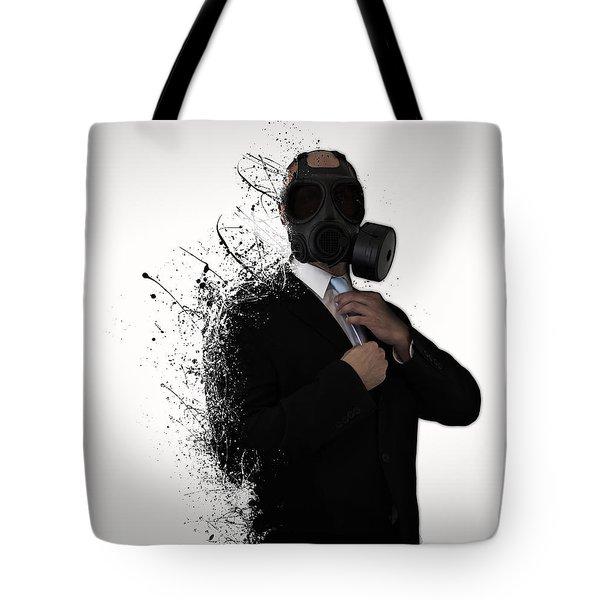 Dissolution Of Man Tote Bag