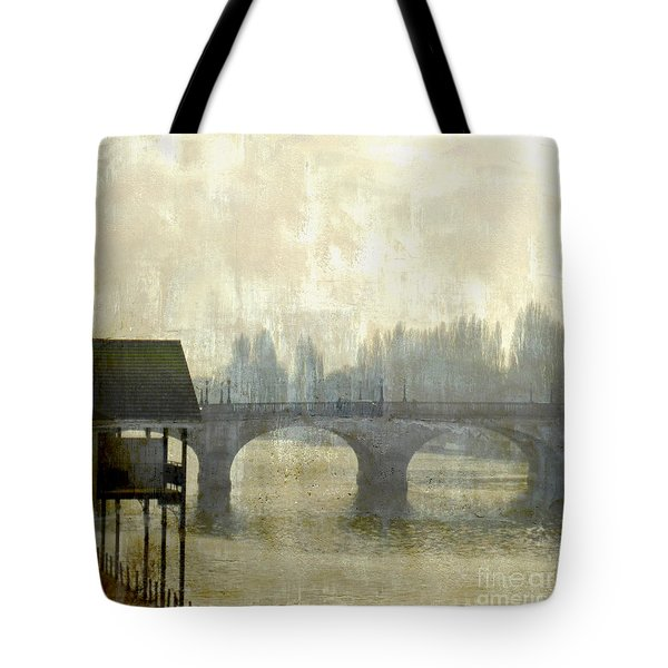 Tote Bag featuring the photograph Dissolving Mist by LemonArt Photography