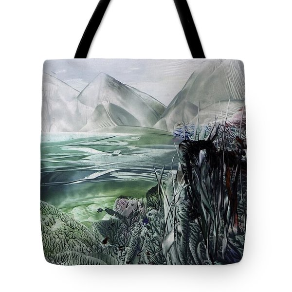 Distant Alps Tote Bag