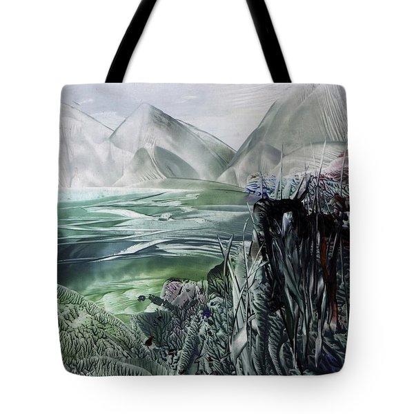 Distant Alps Tote Bag