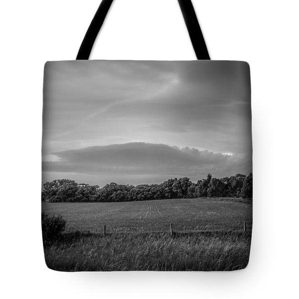 Distant Cloud Tote Bag by Ray Congrove