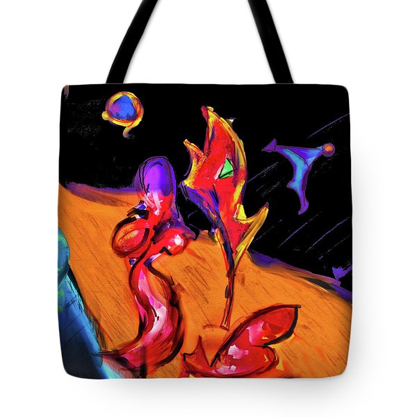 Distant Crossroads Tote Bag by Robert Henne