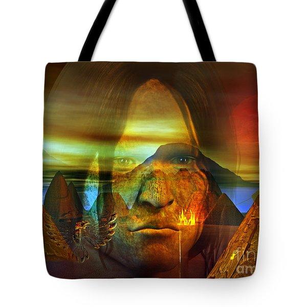 Distant Drum Tote Bag by Shadowlea Is