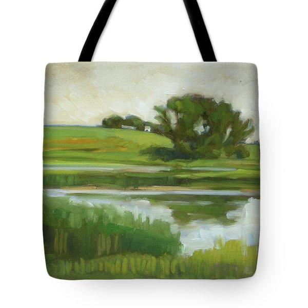 Distant Farm Tote Bag