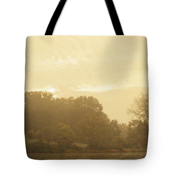 Distant Flutes Tote Bag