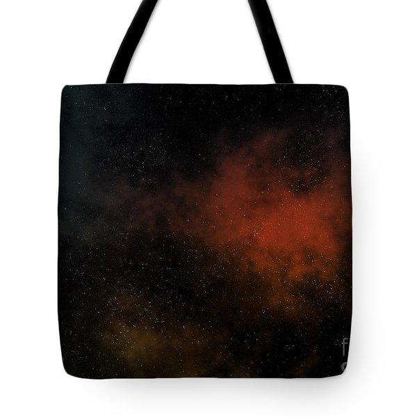 Distant Nebula Tote Bag by Michal Boubin