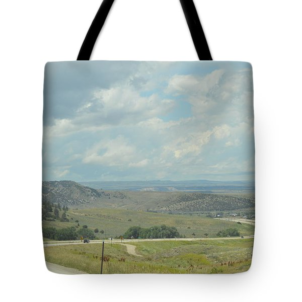 Distant Roads Tote Bag