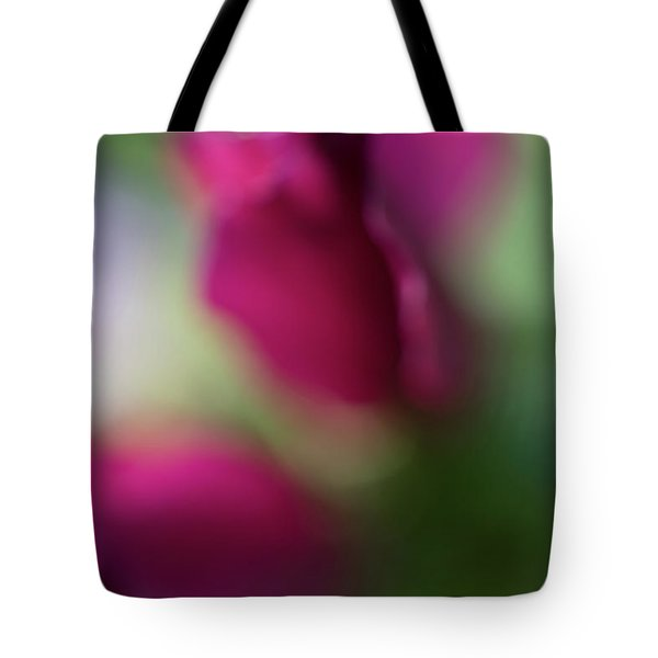 Distant Roses Tote Bag