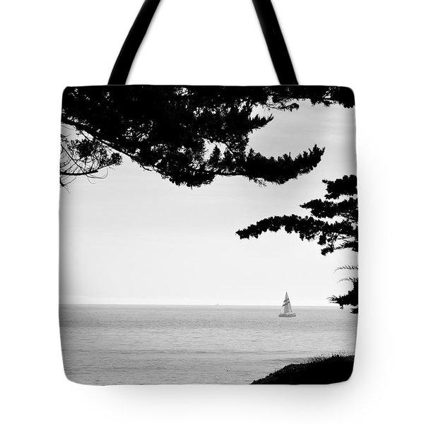 Distant Sails Tote Bag
