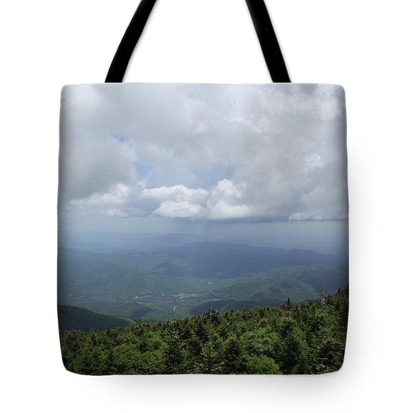 Distant Storm Tote Bag