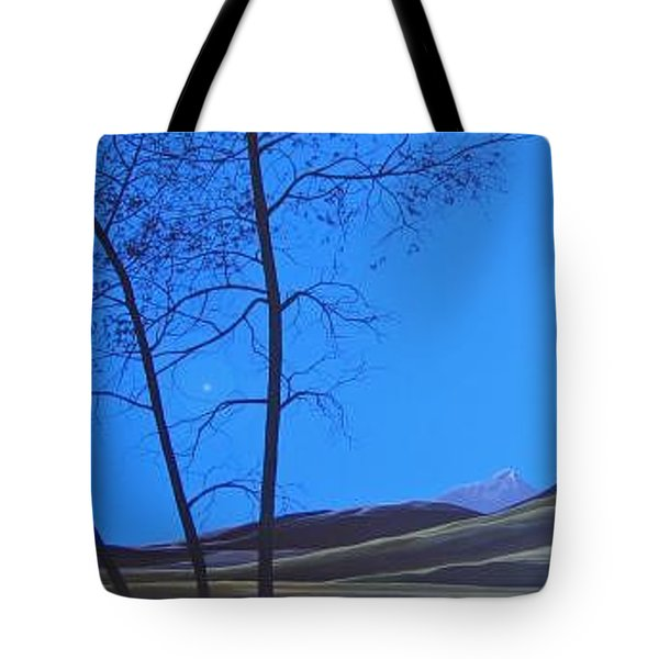 Distant Sun Tote Bag by Hunter Jay