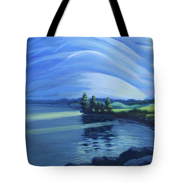 Distant Thunder Tote Bag