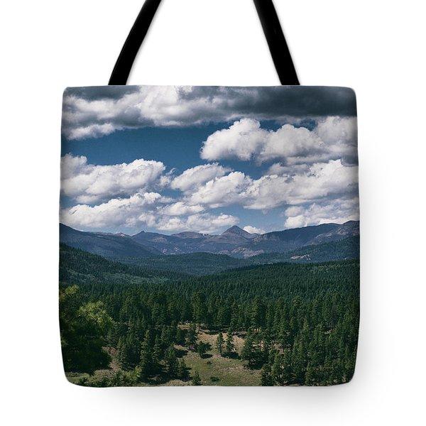 Distant Windows Tote Bag
