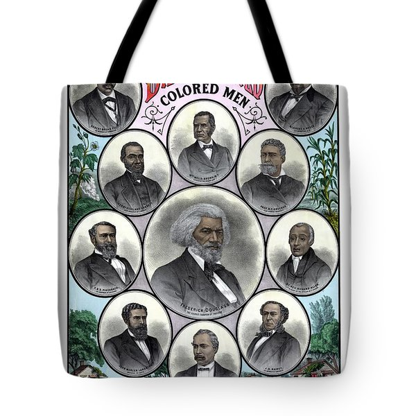 Distinguished Colored Men Tote Bag